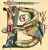 Electronic Beowulf illustration