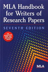 Mla handbook for writers of research papers 7th edition pdf