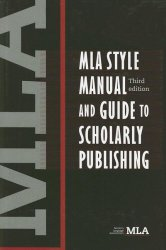 MLA Style Manual-3rd edition