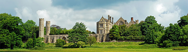 Battle Abbey at Hastings, East Sussex