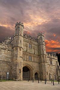 Battle Abbey gates