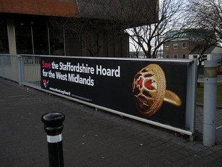 Save the Staffordshire Hoard for the West Midlands