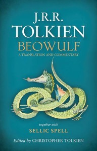 Tolkien - Beowulf book cover